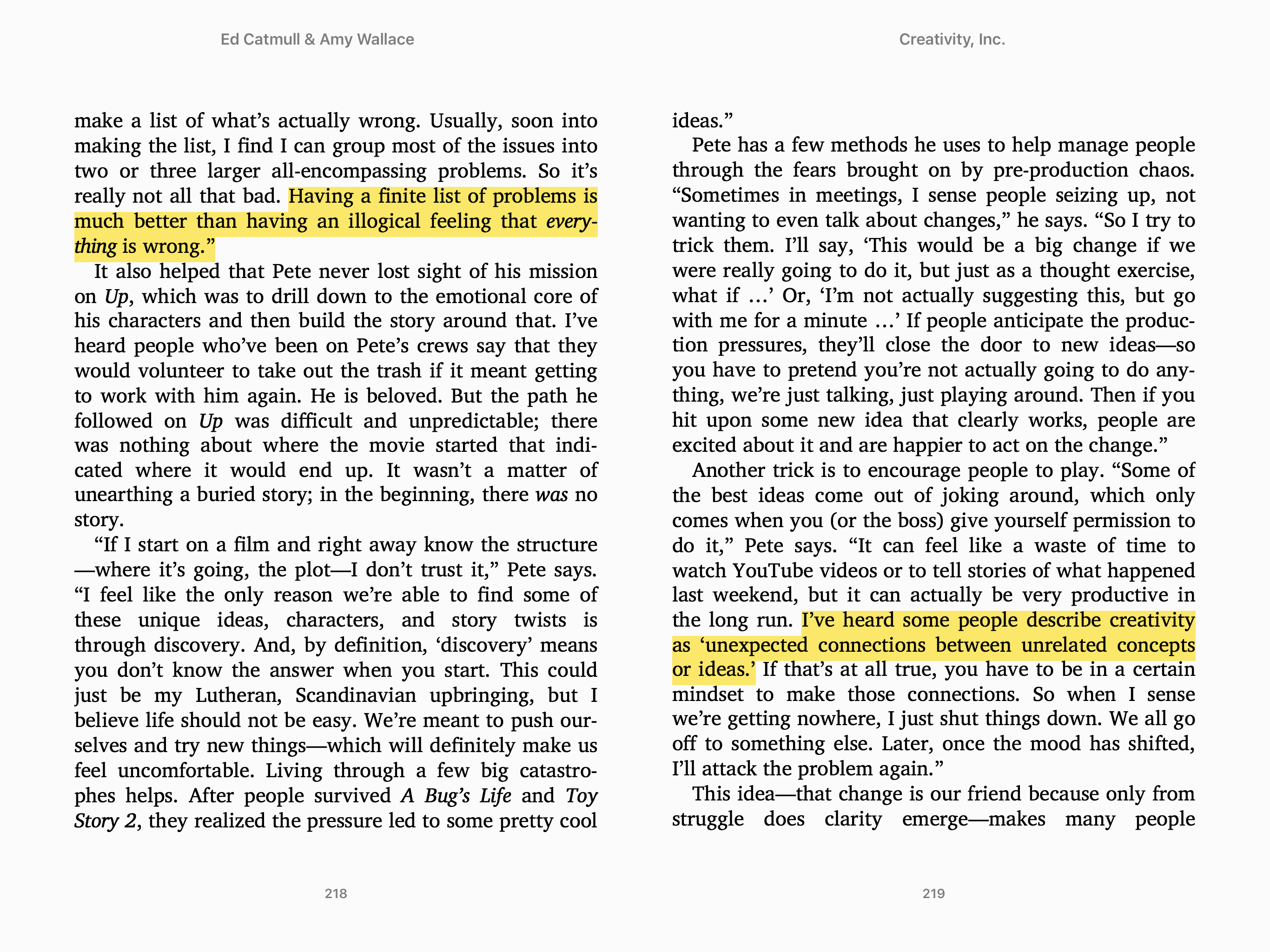 Highlighting in iBooks